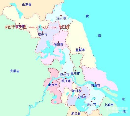 江苏旅游地图高清版【相关词_ 江苏旅游景点大全】