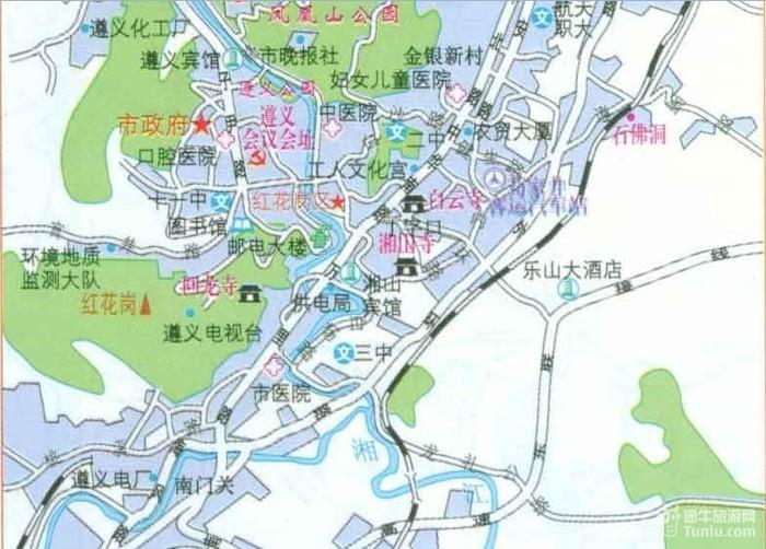 【遵义旅游攻略】遵义旅游地图_贵州旅游攻略