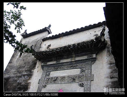 安徽水墨画古建筑分享展示