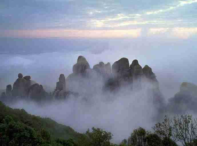 名胜区,aaaa级风景区,国家自然遗产--【太姥山岳景区
