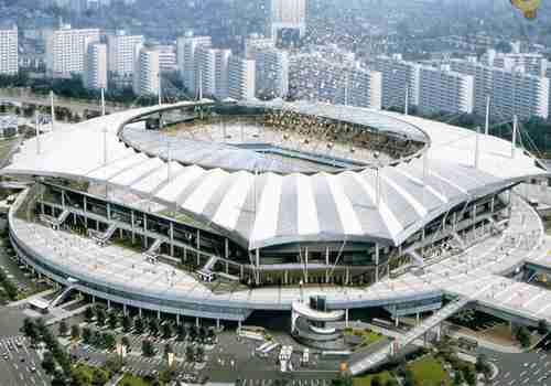 前往【世界杯体育场】 首尔世界杯体育场的设计
