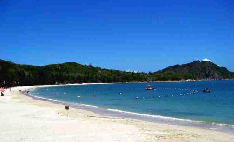 九运会海上赛场,亚运会帆板赛场—【红海湾遮浪南澳半岛】,半岛将海一