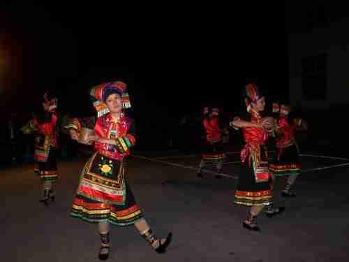 精彩的瑶族歌舞表演