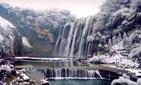 黄果树瀑布旅游 贵州安顺黄果树瀑布旅游 高清图片
